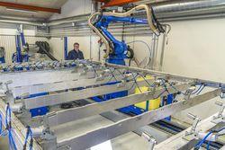 Компания A/S Dybvad Stâlindustri приобрела один из крупнейших сварочных роботов в Датском королевстве